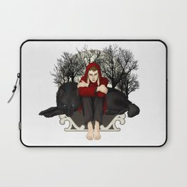 Moon Bunny Laptop Sleeve