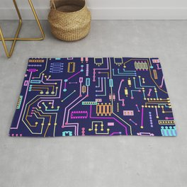 Circuits Rug