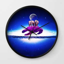 Earth dream Wall Clock
