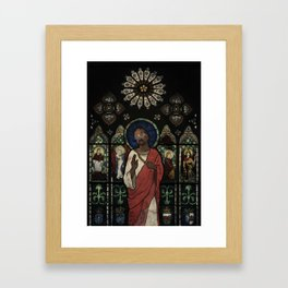Jeezus  Framed Art Print