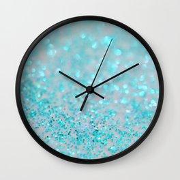 Sweetly Aqua Wall Clock
