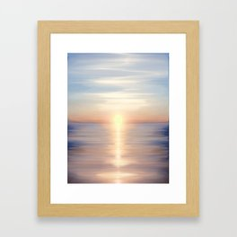 Sea of Love II Framed Art Print