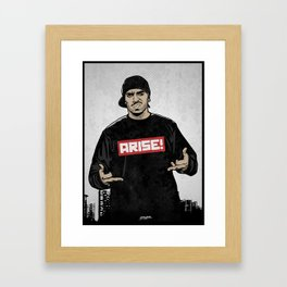 Immortal Technique Framed Art Print
