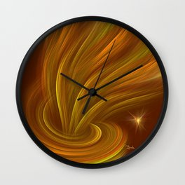 Aladdin effect Wall Clock