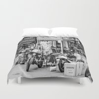 seoul Duvet Covers featuring Everyday Seoul by Jennifer Stinson