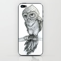 owl sketched iPhone & iPod Skin