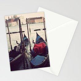 Italian Boat Dock Stationery Cards