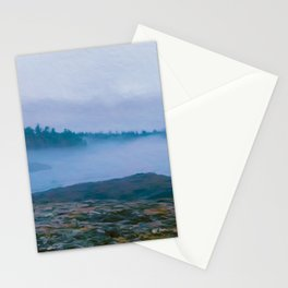 North Shore Fog Stationery Cards