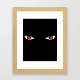 Sharingan Framed Art Print