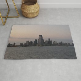 View of Colgate Center from New York Harbor Rug