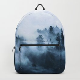 Clear away the fog to see the light. Blue Backpack