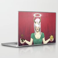 demon Laptop & iPad Skins featuring Demon by Jauma