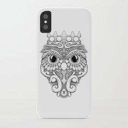 Rococo Owl iPhone Case