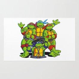 Teenage Mutant - Ninja Turtle Rug