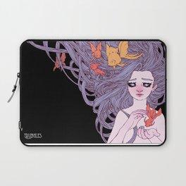 Mermaid and Goldfish Laptop Sleeve