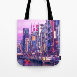 Osaka Citypop Tote Bag