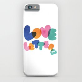 Love Letter 02 iPhone Case