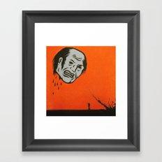 revenge ghost Framed Art Print