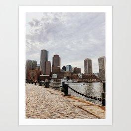 Boston Seaport Art Print