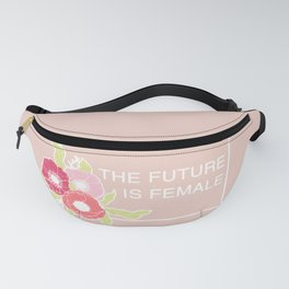 The Future Is Female #society6 #buyart Fanny Pack