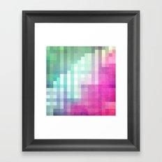 Pixel 3 Framed Art Print