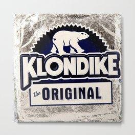 Klondike Metal Print