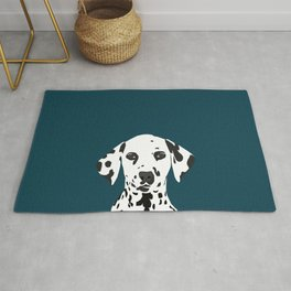 Ryan - Dalmatian art print phone case decor for pet lover and dog lover Rug
