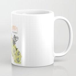 California Map Coffee Mug