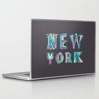 nyc Laptop & iPad Skins featuring NYC by Fimbis