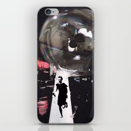 Just Don't Burst my Bubble in the Future iPhone Skin