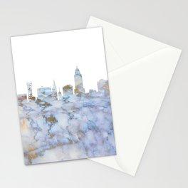 Lincoln Nebraska Skyline Stationery Cards