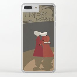 The Handmaid's Tale Poster 1 Clear iPhone Case