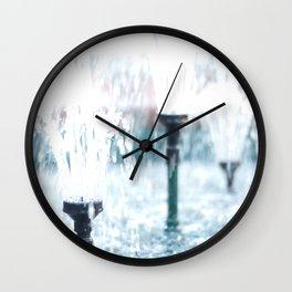 Wellsprings Wall Clock