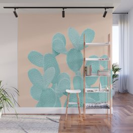 Summer Cactus #1 #succulent #decor #art #society6 Wall Mural