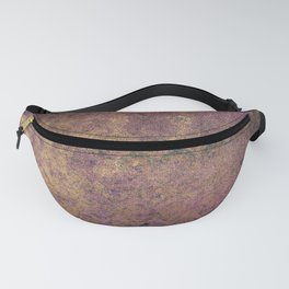 Abstract Grunge Gold 8 Fanny Pack