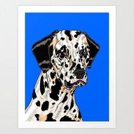 Spotty Boy Art Print