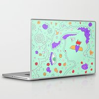 vogue Laptop & iPad Skins featuring Vogue by Amanda Trader