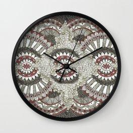 Mandala-la-la Collab Wall Clock