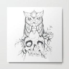 Sabiduría Metal Print