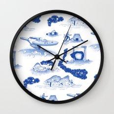 Pop Porcelain- Final Frontier  Wall Clock