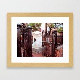 Poe's Gate Framed Art Print