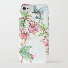 Honeysuckle Hummingbird Slim Case iPhone 7