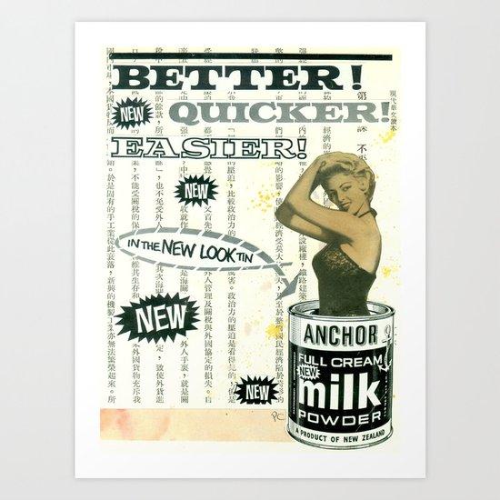 Better! Art Print