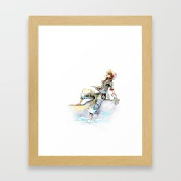 Simple and Clean Framed Art Print
