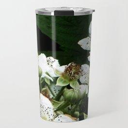Fraises des bois Flowers Travel Mug