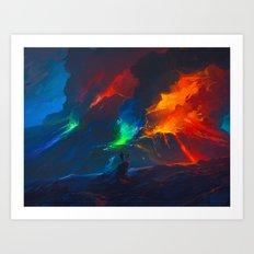 Second Painteruption Art Print