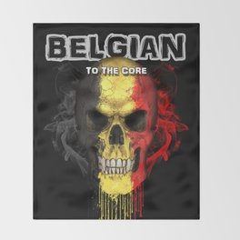 To The Core Collection: Belgium Throw Blanket