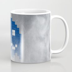 Pac-Man Blue Ghost Mug
