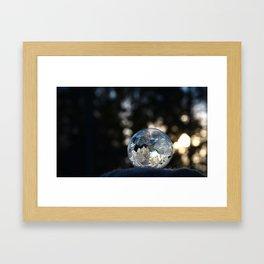 Frozen Bubble Framed Art Print