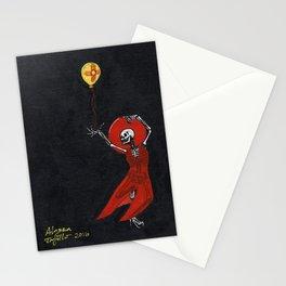 Dancing Skeleton Stationery Cards